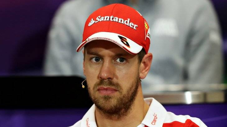 Vettel está desquiciado