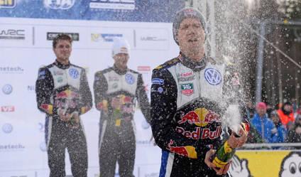 Ogier tricampeón mundial de Rallies