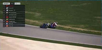 Bagnaia gana la segunda Carrera Virtual de #StayAtHomeGP