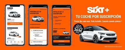 SIXT+ servicio de coche por suscripción con todo incluido