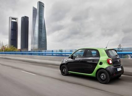 Nuevos Smart Fortwo y Forfour eléctricos