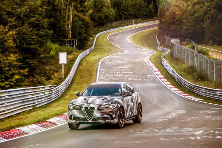 El récord del Alfa Romeo Stelvio QV podría ser fake