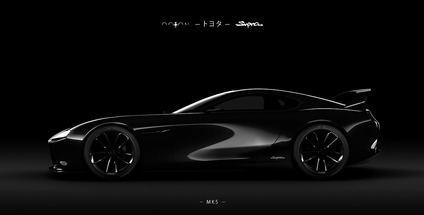 Toyota Supra Mk5 diseñado por Partisani