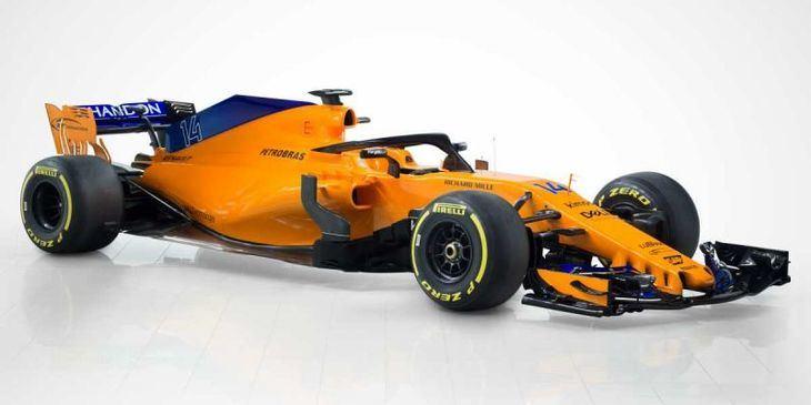 El McLaren de Alonso