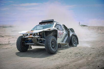 Oscar Fuertes termina termina el Dakar con SsanYong