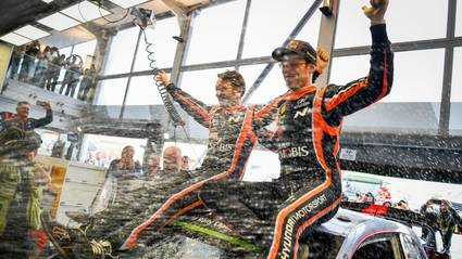 Thierry Neuville ganó un rallye muy apretado