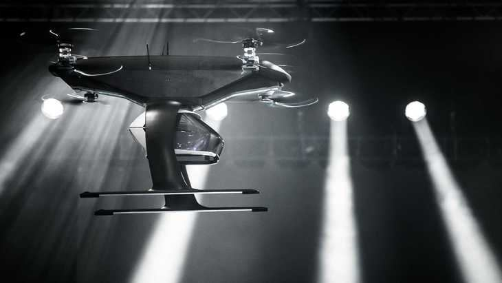 Taxi volador autónomo de Audi