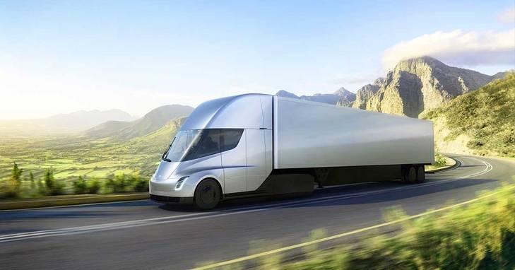 Tesla Semi, un camión eléctrico