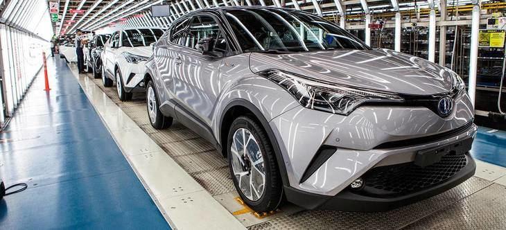Toyota dispone de una fabrica en GB