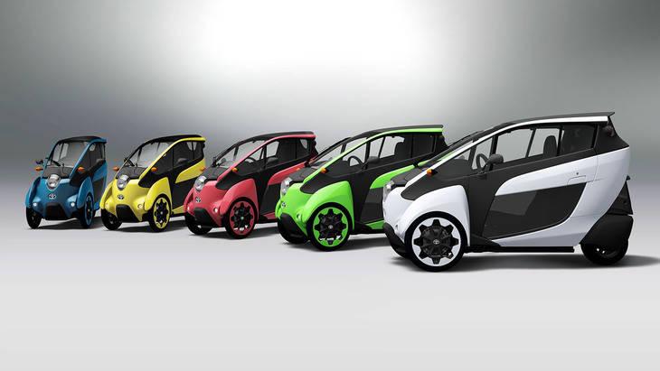"""""""i-Road"""", el desafío de Toyota al Renault Twizy"""