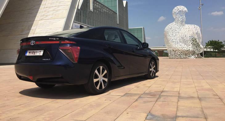 El innovador Toyota Mirai aterriza en España