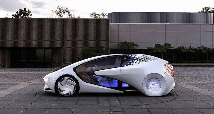 Concept-i, la visión de Toyota de los vehículos del futuro