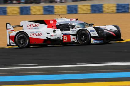 Toyota se dispone para ganar las 24 Horas de Le Mans
