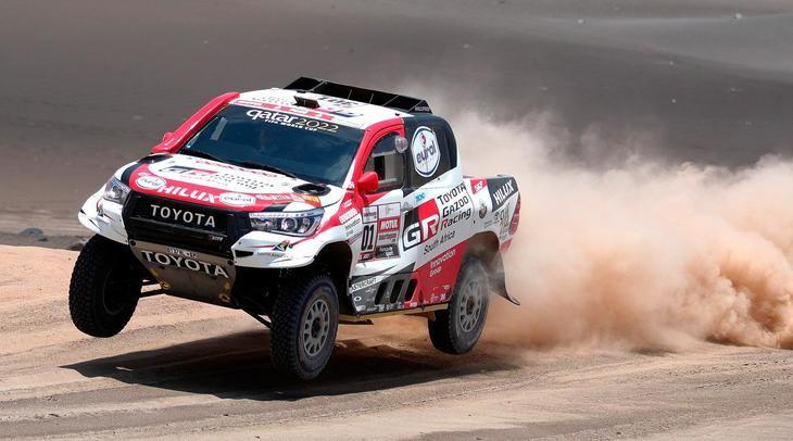 Alonso probará en Sudáfrica con el Toyota del Dakar
