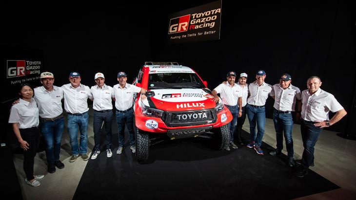 Dakar 2020: Toyota contra todos
