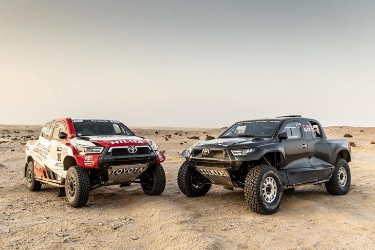 TOYOTA GAZOO Racing presenta su equipo para el Rally Dakar 2022