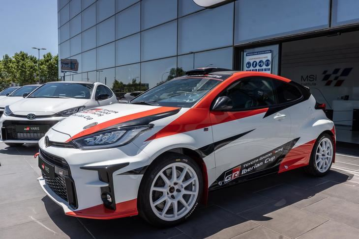 GR Yaris RZ, la nueva estrella de la monomarca Toyota Gazoo Racing Iberian Cup