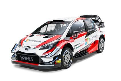El Toyota Yaris para el WRC 2018