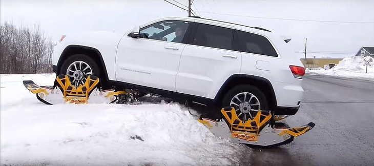 'Botas de Nieve' para coches