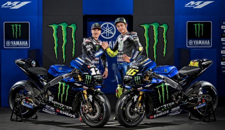 Yamaha presenta su equipo de MotoGP para el 2019