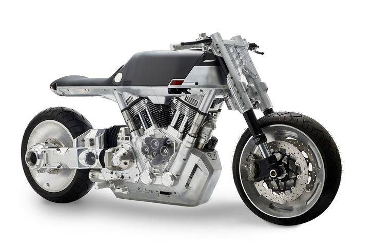 "Una ""Harley"" futurista: Vanguard Roaster"