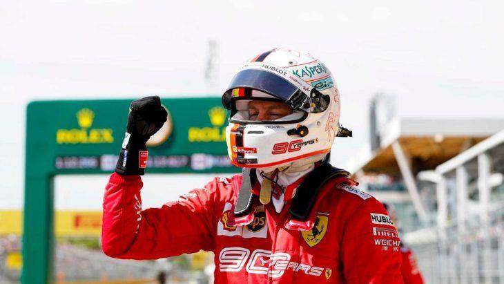 GP de Canadá F1: La larga recta le dió la pole a Vettel