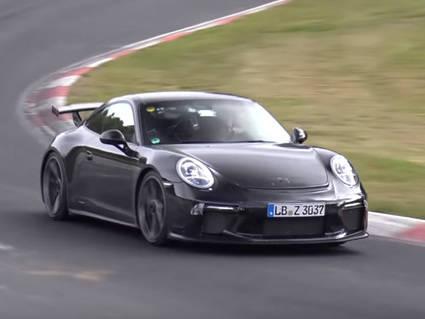 Mira el vídeo del nuevo Porsche 911 GT3