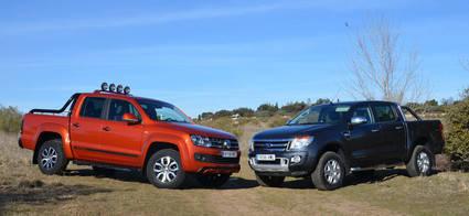 Ford Ranger vs Volkswagen Amarok