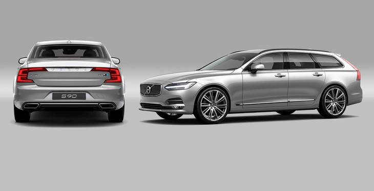 Volvo S90 y V90 desde 45.420 euros