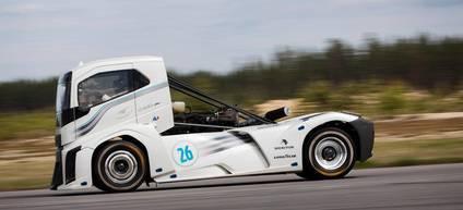 El camión de Volvo más rápido del mundo