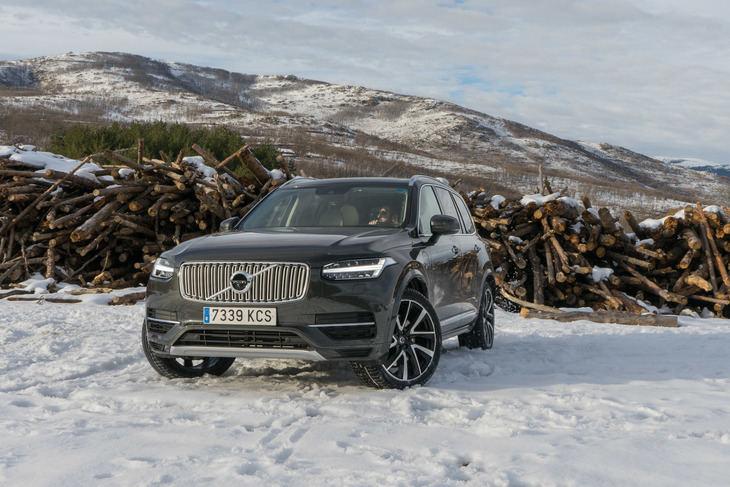 Prueba del Volvo XC90 T8, SUV prestacional y ecológico