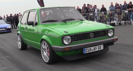 Este Volkswagen Golf MKI con 450 Cv prueba que los clásicos nunca mueren