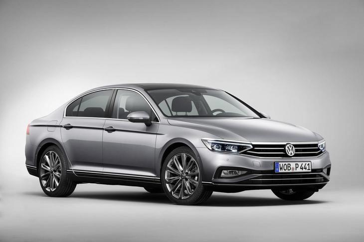 Nuevo VW Passat semiautónomo a velocidad de crucero