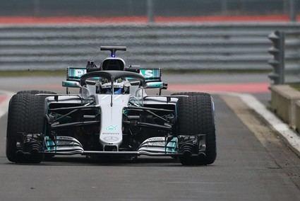 Presentación del Mercedes W09