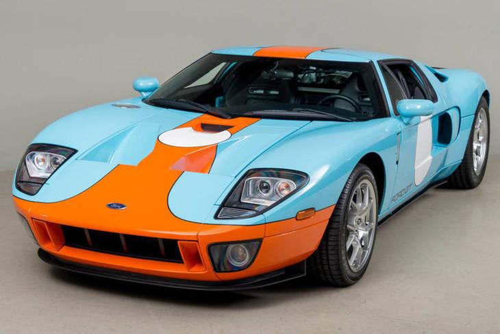 ¿Estás buscando un Ford GT Heritage Edition?