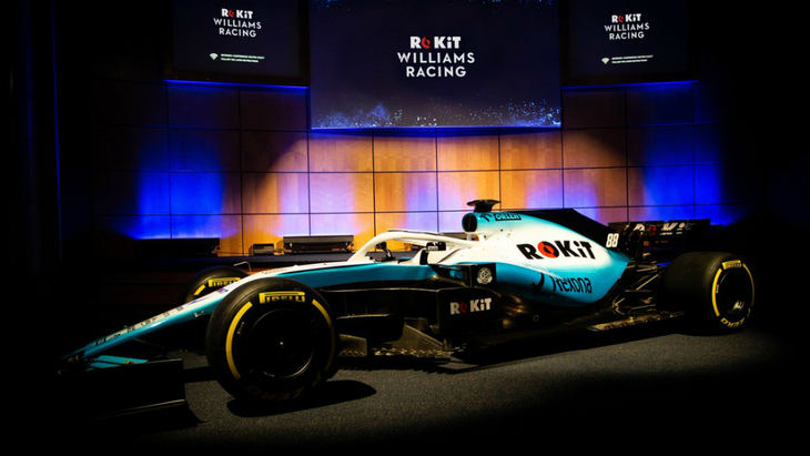 Williams estrena patrocinador