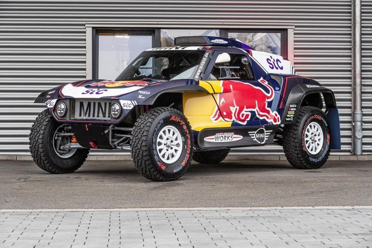 Mini JCW Buggy, el coche de Carlos Sainz