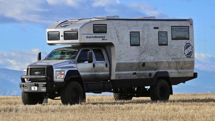 EarthRoamer XV-HD, poseer la reina de las caravanas por 1.300.00 $
