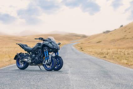 La nueva Yamaha Niken es...diferente
