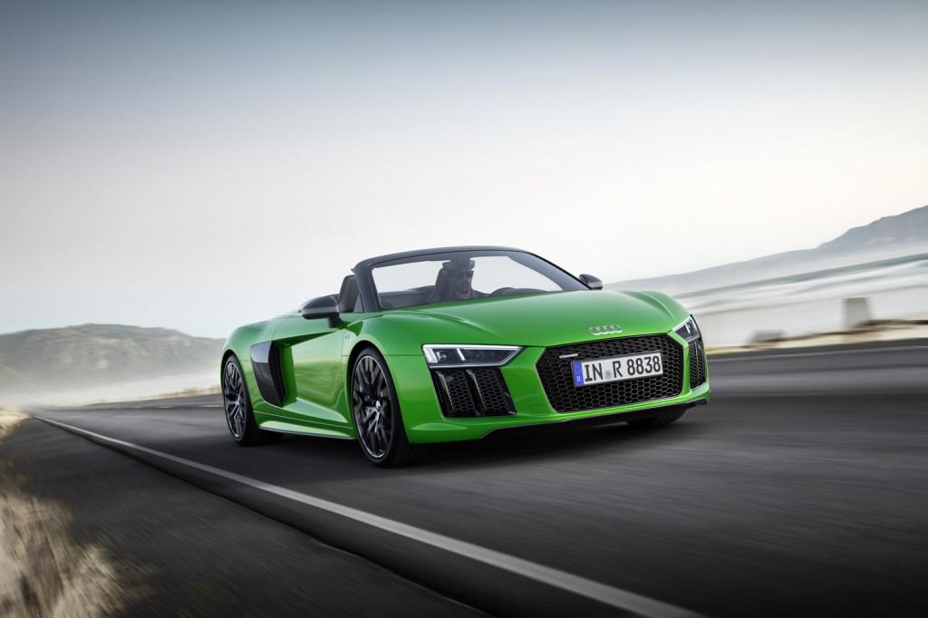 Nuevo Audi R8 V10 Plus Spyder | Revista de coches,