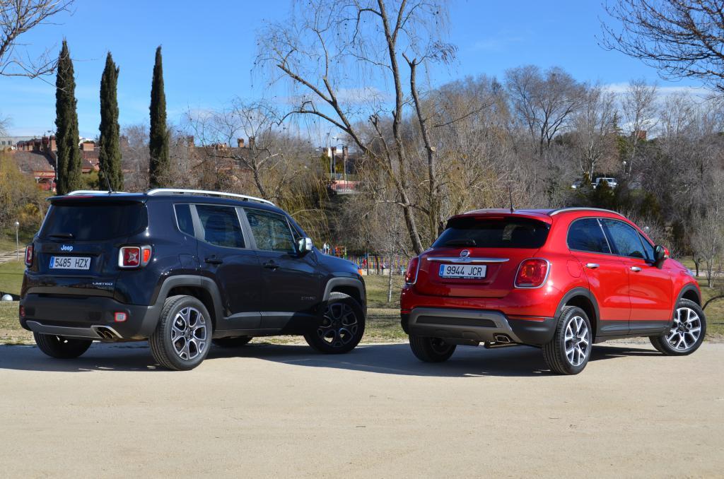 jeep renegade vs fiat 500x  fiat 500x vs jeep renegade | revista de coches, #11
