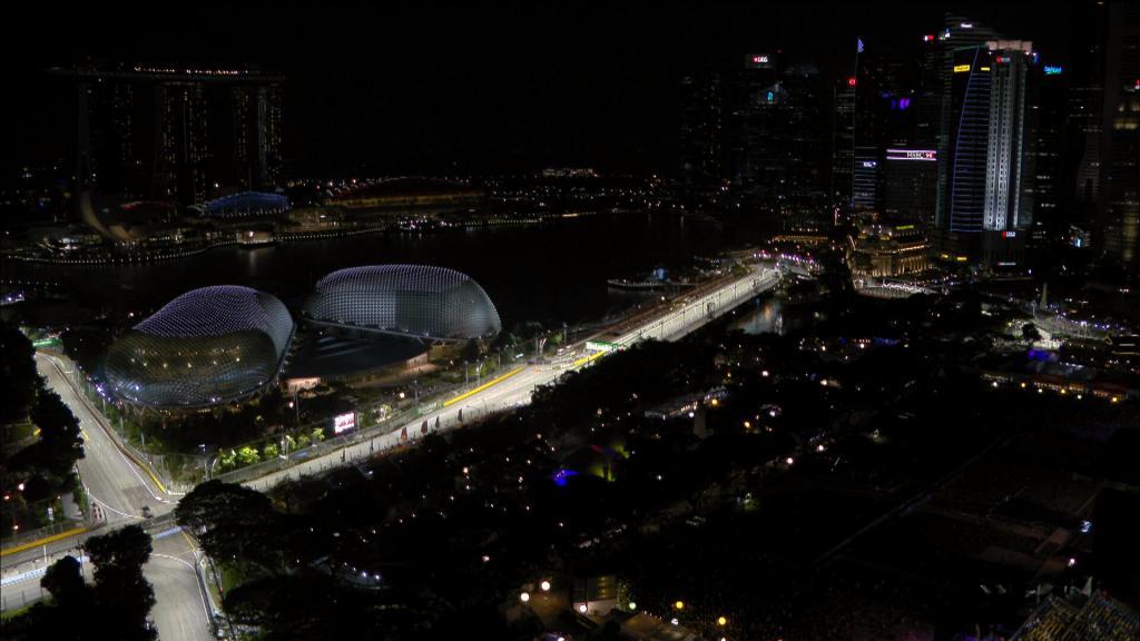 Circuito F1 Singapur : Gp de singapur f hamilton gana en la carrera más aburrida de la